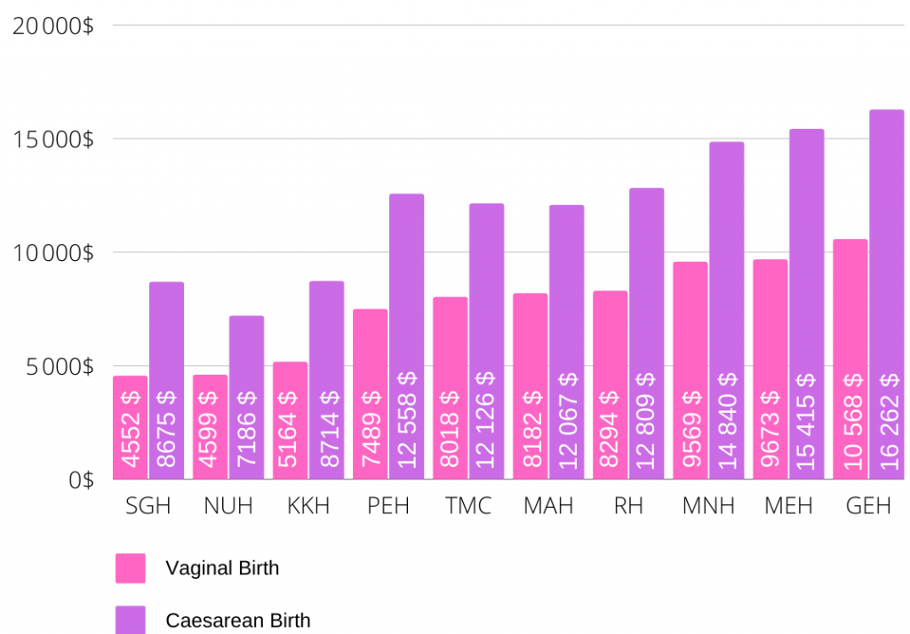 maternity prices