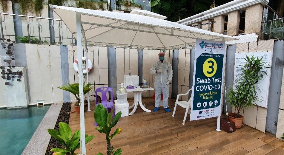 Test Phuket and Samui sandbox